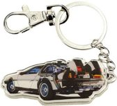 Back to the Future: Time Machine Metal Keychain