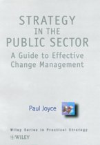 Strategy in the Public Sector