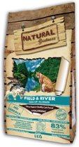 Natural greatness field & river kattenvoer 6 kg