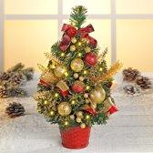 Kerstboompje met leds