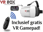 VR Box VR Bril Virtual Reality Glasses 3D Bril voor een smartphone (o.a. iPhone 6/6s en Galaxy S5/S6), professionele kwaliteit! (IOS/Android/Windows), zwart , merk i12Cover ?