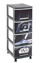 Curver Star Wars A4 Ladesysteem Met Wielen - 4x10l