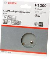 Bosch Schuurschijf coating and composites diameter 125mm K1200 blister van 5 schijven