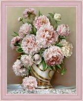 Diamond Painting Pioen rozen AZ-1505