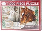 Jigsaw Legpuzzel Paard 1000 Stukjes
