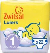 Zwitsal  Luiers New Born 22 stuks