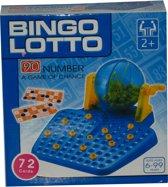 Bingo - Lotto - 72 Kaarten en 90 Nummers