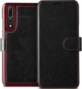 VRS Design Layered Dandy leather case Huawei P20 Pro - Black