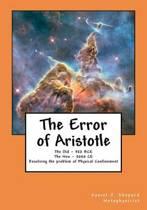 The Error of Aristotle