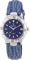 MX ONDA - 32-1200-99 - Horloge -  Leder - Blauw - 31 mm