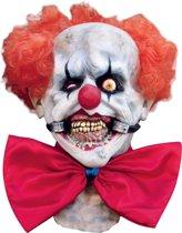 """""""Monsterachtig clownsmasker voor volwassenen Halloween - Verkleedmasker - One size"""""""