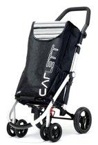Carlett Lett 460 Boodschappentrolley - 40 L - 4 wielen - opvouwbaar - koelvak - veiligheidsrem - zwart