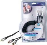 HQ hoge kwaliteit audio kabel 5,00 m