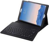 Shop4 - iPad Pro 12.9 (2017) Toetsenbord Hoes - Bluetooth Keyboard Cover Lychee Zwart