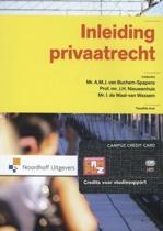 Inleiding privaatrecht