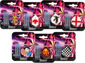 Abbey Darts Flights & Shafts - Universeel