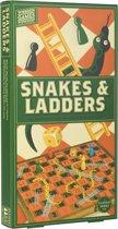Snakes & Ladders - Houten Bordspel