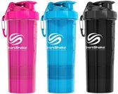 SmartShake Original2GO 800ml 1shaker Pure White