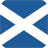 Bierviltjes Schotse vlag vierkant 15 st