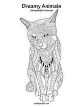 Dreamy Animals Coloring Book for Grown-Ups 1