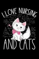 I Love Nursing and Cats: Cat lovers Prayer Journal, My daily prayer journal, Keeping a prayer journal with 100 pages, Awesome Prayer journal fo