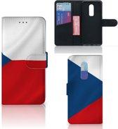 Bookstyle Case OnePlus 6 Tsjechië