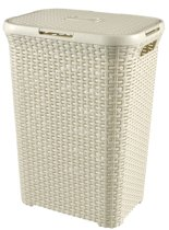 Curver Style Wasmand - 60 l - Vintage wit