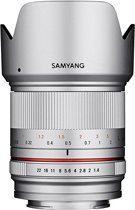 Samyang 21mm F1.4 ED AS UMC CS MILC Groothoeklens Zilver