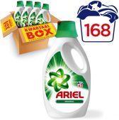 Ariel Regular - Kwartaalbox 168 Wasbeurten - Vloeibaar Wasmiddel