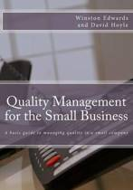 Quality Management for the Small Business