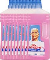 Mr. Proper Allesreiniger - Vleugje Bloesem - 9 x 1,25L - Voordeelverpakking