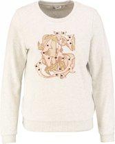 Garcia zachte sweater met pailletten - Maat S
