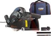 FERM WSM1008 Muurfrees - Freesmachine - 1600W - Met 2 Diamantschijven 150mm - Laser - Stofzuigadapter - Canvas opbergtas