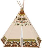 Tipi Wigwam Speeltent - Idianen Tent Kindertent - Indianentent Kinderen - Kinder Tipi