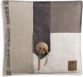 Knit Factory Lex Kussen - beige 50 x 50 cm