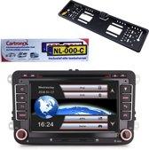 RNS 510 Multimedia-autoradio voor Volkswagen/Seat/Skoda met Navigatie & Bluetooth.  (Nu me