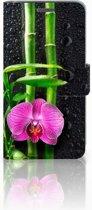 Wiko Rainbow Jam Boekhoesje Design Orchidee