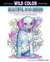 Beautiful Dog Breeds Adult Coloring Book