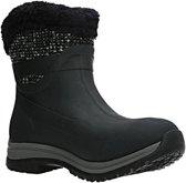 Muck Boot Arctic Apres Ankle Supreme Outdoorlaarzen - Zwart/Grijs - Dames - Maat 39/40