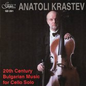 20th Century Bulgarian Music for Cello Solo
