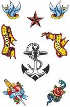 Zeeman tattoos 8 stuks