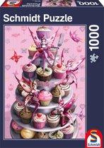 Zoete verleiding - Legpuzzel - 1000 Stukjes