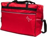 Leonardo - handbagage reistas - medium - 44 Liter - Rood