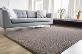 Interieur05 Hoogpolig Vloerkleed Shaggy Collection 160x240 - Taupe