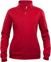 Clique Basic cardigan ds Rood maat XL