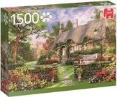Zonnige Cottage - Puzzel 1500 stukjes