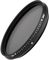 82mm Variabele ND2-2000 Lens Filter / Grijsfilter