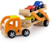 Vigatoys Autotransporter met 4 auto's