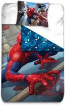 Spider-Man Climber - Dekbedovertrek - Eenpersoons - 140 x 200 cm - Multi