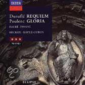 Durufle: Requiem; Poulenc: Gloria; et al / Hickox et al